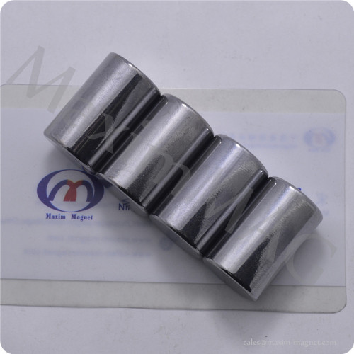Neodymium rod magnets with Chorm coating