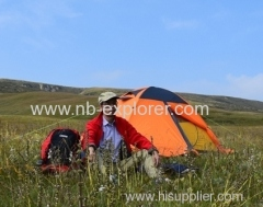 High quality hiking backpacking tent / Mountaineering tent