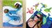 five design beach towel clips animal shaped