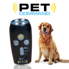 Munlti functional Portable Pet command for dog training with LED Flashlight