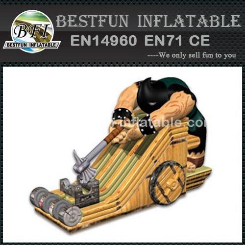 Giant Inflatable Axeman Slide