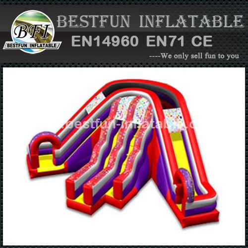 Design promotion inflatable slides