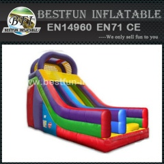 Deluxe inflatable bouncer slide