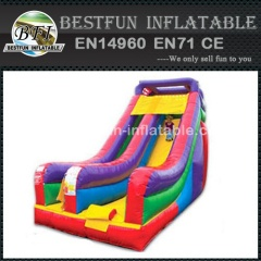 Cheap deluxe giant inflatable slides