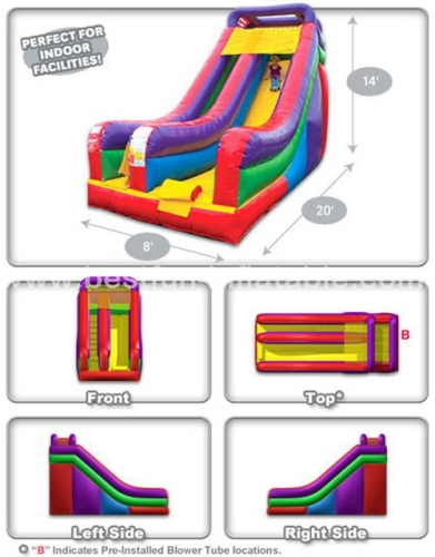 Deluxe Sports inflatable bouncer slide Combo