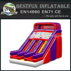 Designer small inflatable slide