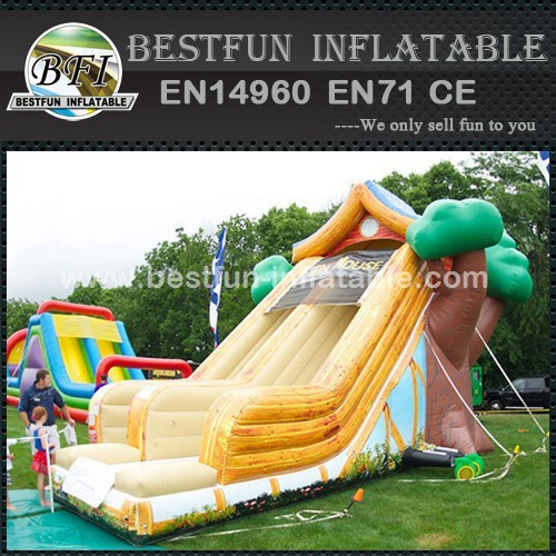 Tree house inflatable slide for sale