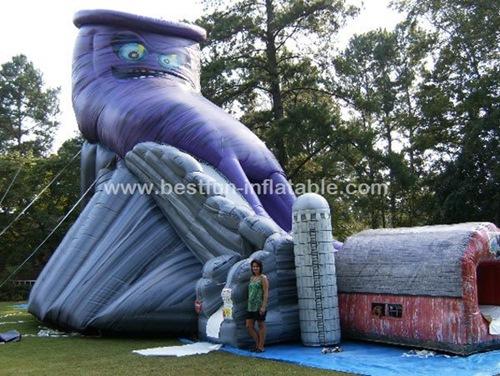Inflatable Mega Twister Super Slide