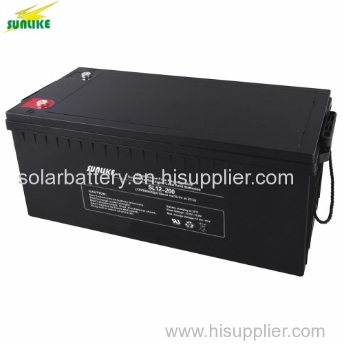 Deep cycle AGM Battery 12v200ah for Solar&Wind Systems