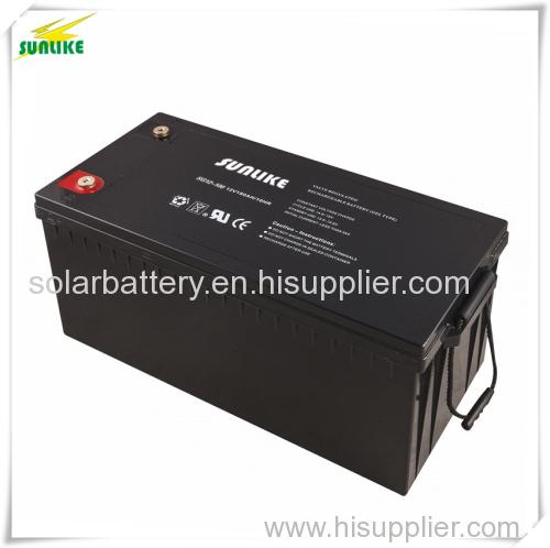 Solar Accumulator Solar Gel Battery with 20years Life 12V200ah