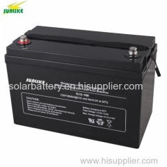 High Capacity Battery 12V100ah AGM Storage Solar Battery