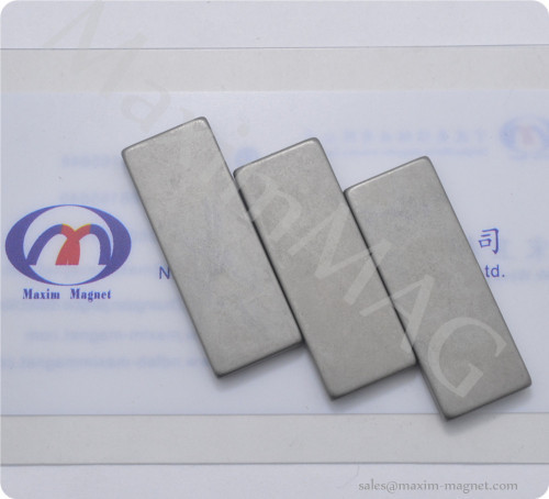Neodymium block/rectangular magnets phosphate coating