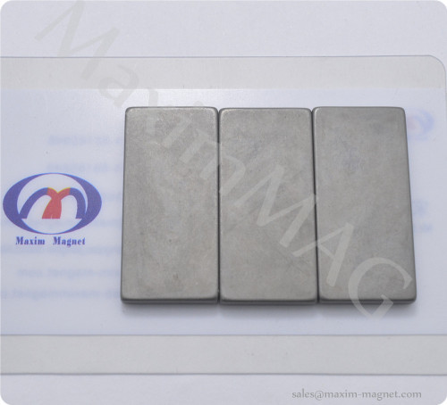 strong Neodymium block magnets passivate coating
