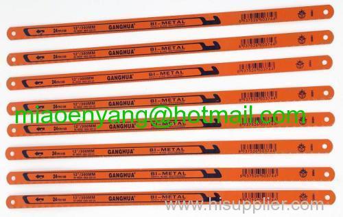 Bimetal hacksaw blade Bi-metal hacksaw blades