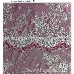 Knitted Eyelash Lace Fabric (E1207)