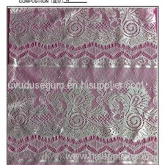 Eyelash Lace Fabric (E713)