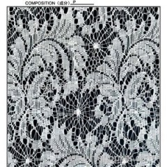 100%polyester 125cm Lace Fabrics (R5035)
