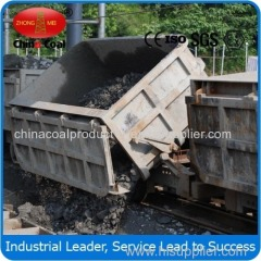 Single-side Curved Rail Dumping Mine Car
