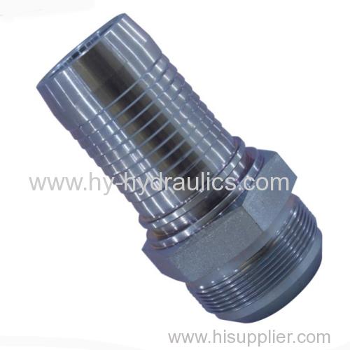 SAE J514 JIC male 74 degree cone hydraulic hose fittings 16711