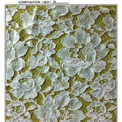White Nice Nylon Lace Fabric (R2103)