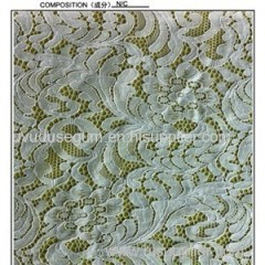 Nylon And Cotton Lace Fabric (R2096)