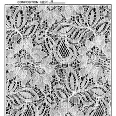 148CM Nylon Lace Fabric By The Yard (R697)
