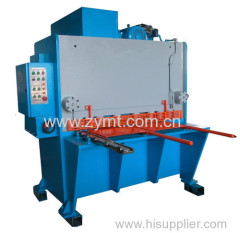 hydraulic shearing machine guillotine cutting