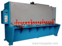 guillotine shearing cutting machine
