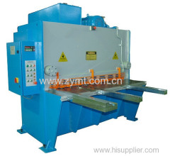 sheet metal guillotine steel shearing machine