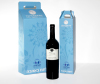 cardboard wine gift packing bags