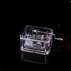 Clear Acrylic Music Box