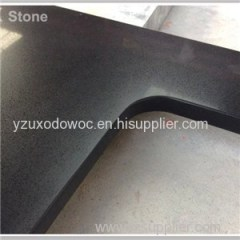 Prefabricated Black Quartz Stone Countertop