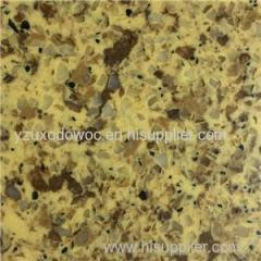 Polished Big Grain Artificial Quartz Stones For Cooking