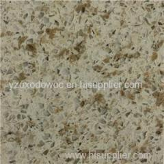 Beige Colors Crystal Quartz Stone With Mirror Glass