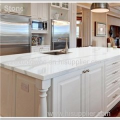 White Quartz Engineered Stone Countertops