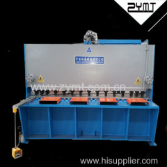 guillotine shearing machine sheet shearing machine metal shearing machine