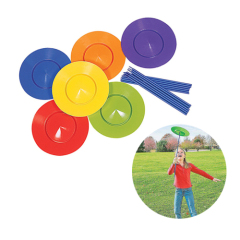 6pcs acrobatics turntable for children exercise skills