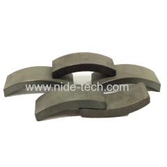 tipo di materiale magnete in ferrite Arco per dinamo generale e motori standard