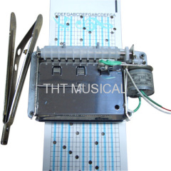 20 Note Electric Motor Paper Tape Music Box