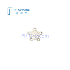 Titanium Plate for Neurosurgery Burr Hole Plate Thickness 0.6mm