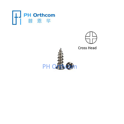 Titanium Self-drilling Micro Screws Diameter 1.5mm Length 3/4/5/6/7mm Cranio-Maxillofacial Surgery and Neurosurgery