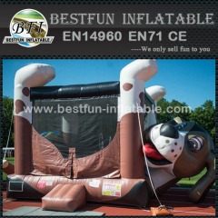 Inflatable Beagle Belly Bounce house