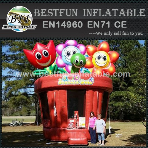 Bouncing Buds Inflatable Bouncer
