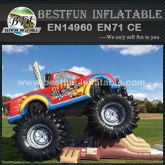 Inflatable monster truck combo truck