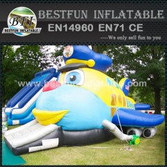 Jet inflatable jumping castle