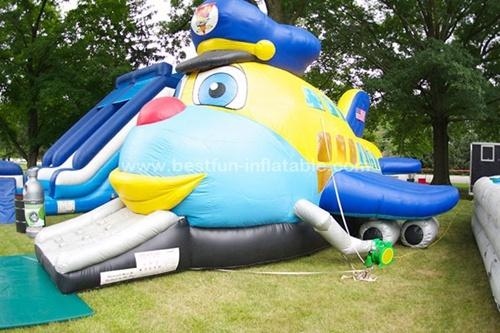 Amazing Jumbo Jet Exclusive inflatable combos