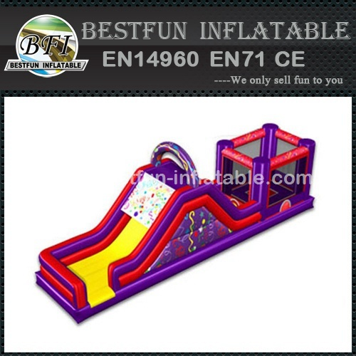 Inflatable slide combo for kids
