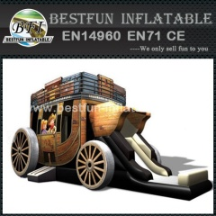 Stagecoach Carriage Inflatable Bouncer