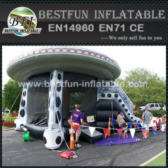 UFO Theme Inflatable Castle Combo