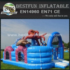 Inflatable bouncer amusement park for Ocean World